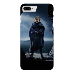 "Чехол для iPhone 7 Plus глянцевый ""Звездные войны - Люк Скайуокер"" - фантастика, звездные войны, дарт вейдер, кино, star wars"