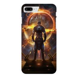 "Чехол для iPhone 7 Plus глянцевый ""Starpoint Gemini Warlords"" - starpoint gemini warlords, планета, космос, взрыв, компьютерная игра"