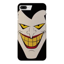 """Чехол для iPhone 7 Plus глянцевый """"Джокер"""" - joker, комиксы, batman, бэтмен, dc comics"""