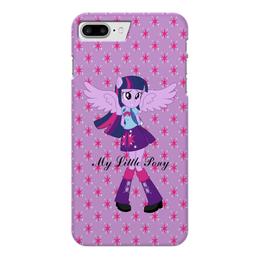 """Чехол для iPhone 7 Plus глянцевый """"Искорка (Девочки Эквестрии)"""" - mlp, мой маленький пони, искорка, equestria girls, девочки эквестрии"""