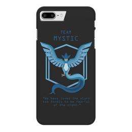 "Чехол для iPhone 7 Plus глянцевый ""Team Mystic"" - мультфильм, pokemon, покемон, мистик, mystic"
