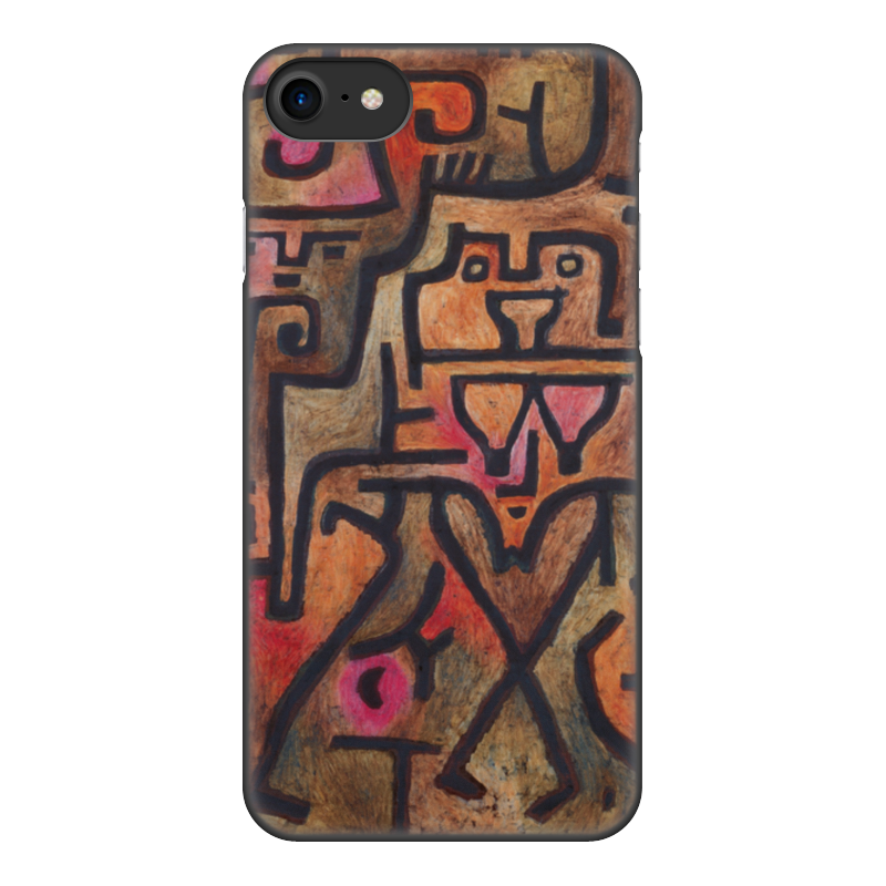 Чехол для iPhone 8, объёмная печать Printio Лесные ведьмы (пауль клее)