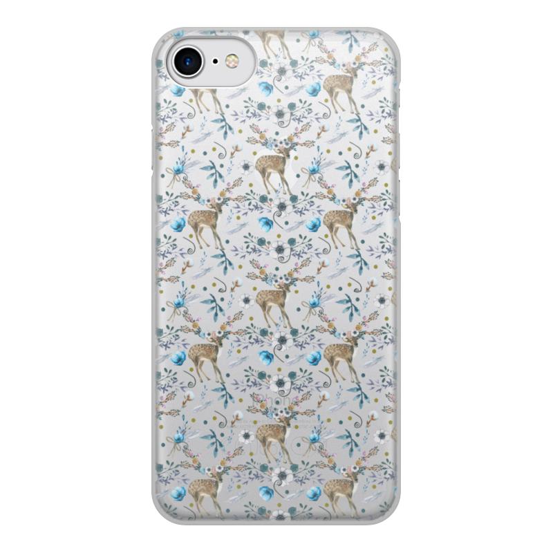 Чехол для iPhone 8, объёмная печать Printio Волшебный лес цена