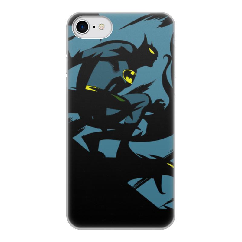 Чехол для iPhone 8, объёмная печать Printio Бэтмен чехол для iphone 8 объёмная печать printio буря красок