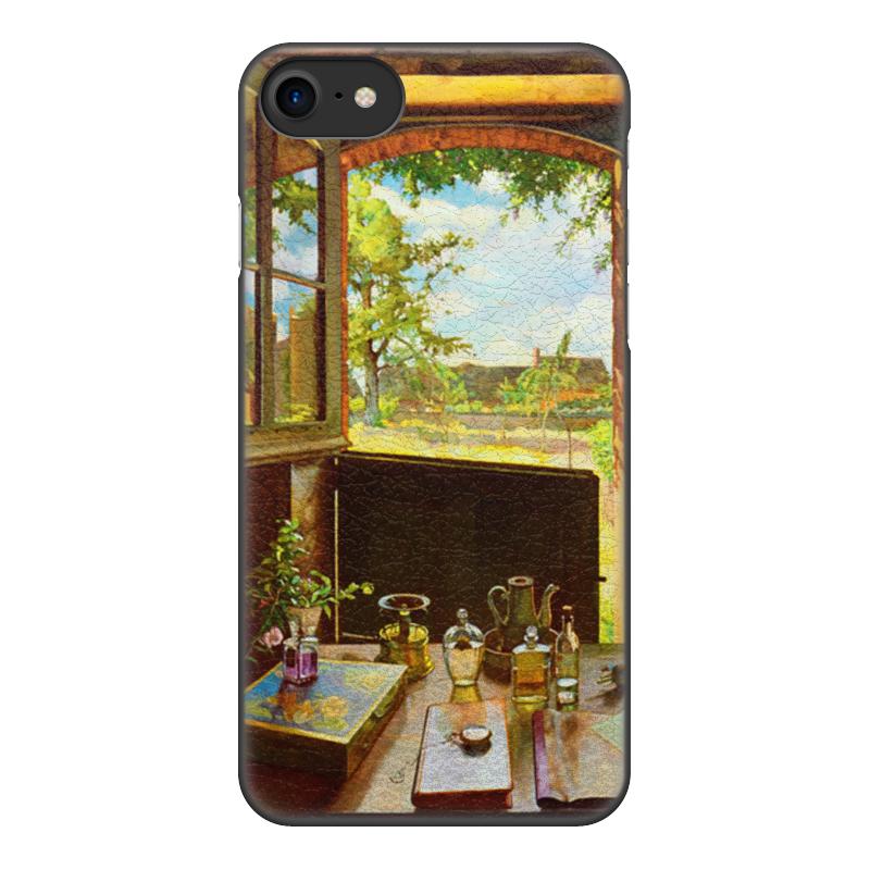 купить Чехол для iPhone 8, объёмная печать Printio Открытая дверь в сад (константин сомов) по цене 1520 рублей