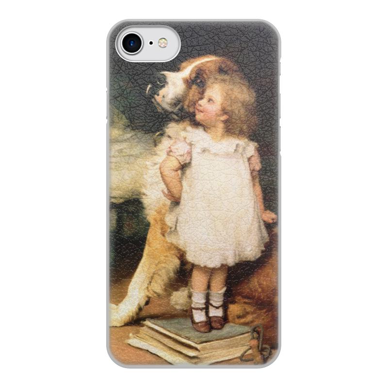 Чехол для iPhone 8, объёмная печать Printio Картина артура элсли (1860-1952) цена и фото