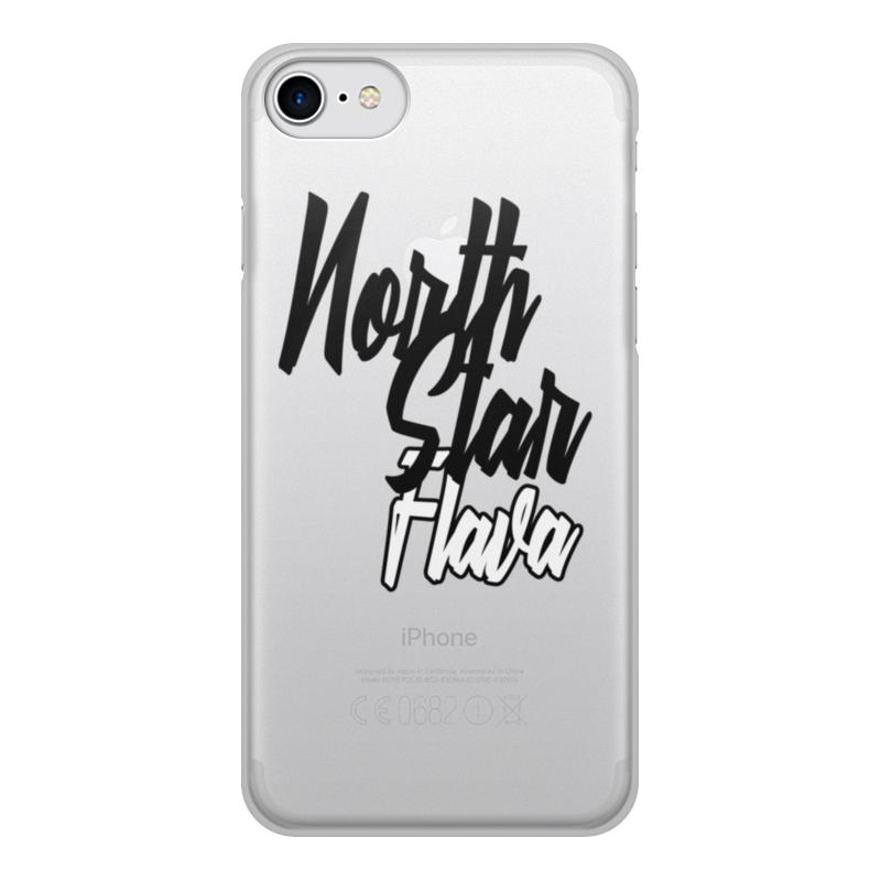 Чехол для iPhone 8, объёмная печать Printio North star flava mooncase wileyfox storm ультратонкий тпу силиконовый чехол soft shell чехол для wileyfox storm