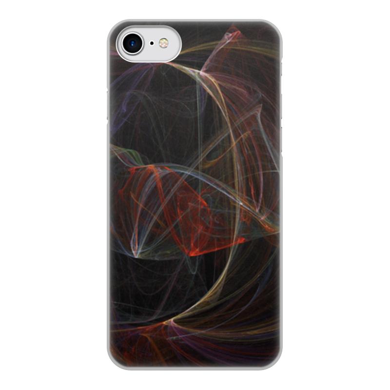 Чехол для iPhone 8, объёмная печать Printio Абстрактный дизайн