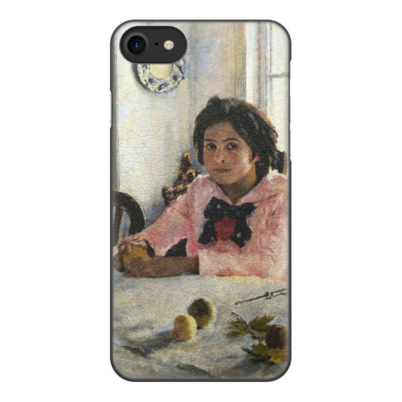 Чехол для iPhone 8, объёмная печать Printio Девочка с персиками (валентин серов) постников валентин юрьевич карандаш и самоделкин