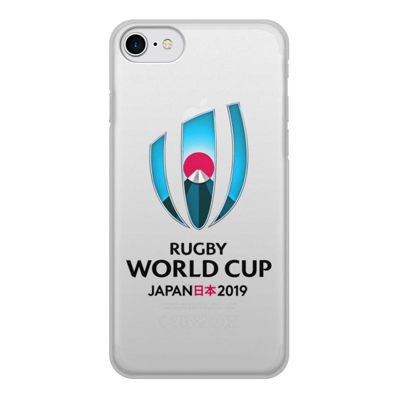 Чехол для iPhone 8, объёмная печать Printio Кубок мира по регби в японии чемпионат мира по регби 2019 африка 1 победитель утешительного турнира