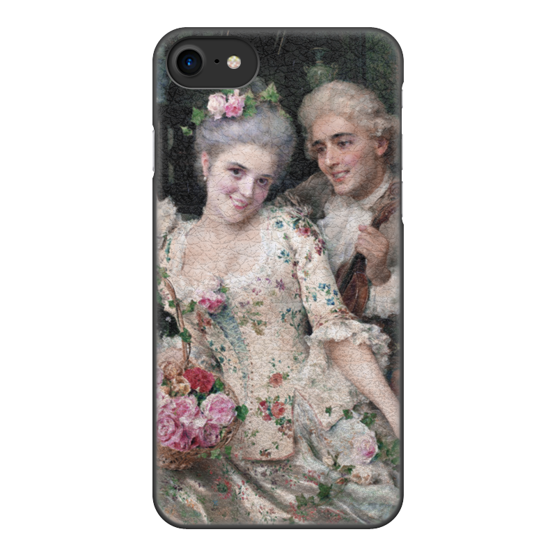 Чехол для iPhone 8, объёмная печать Printio A new basket of flowers (федерико андреотти) free shipping 100pcs am9435p 9435p sop 8 100% new