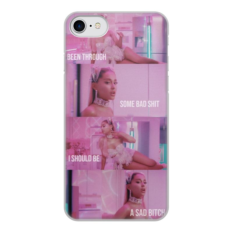 Чехол для iPhone 8, объёмная печать Printio Ariana grande цена