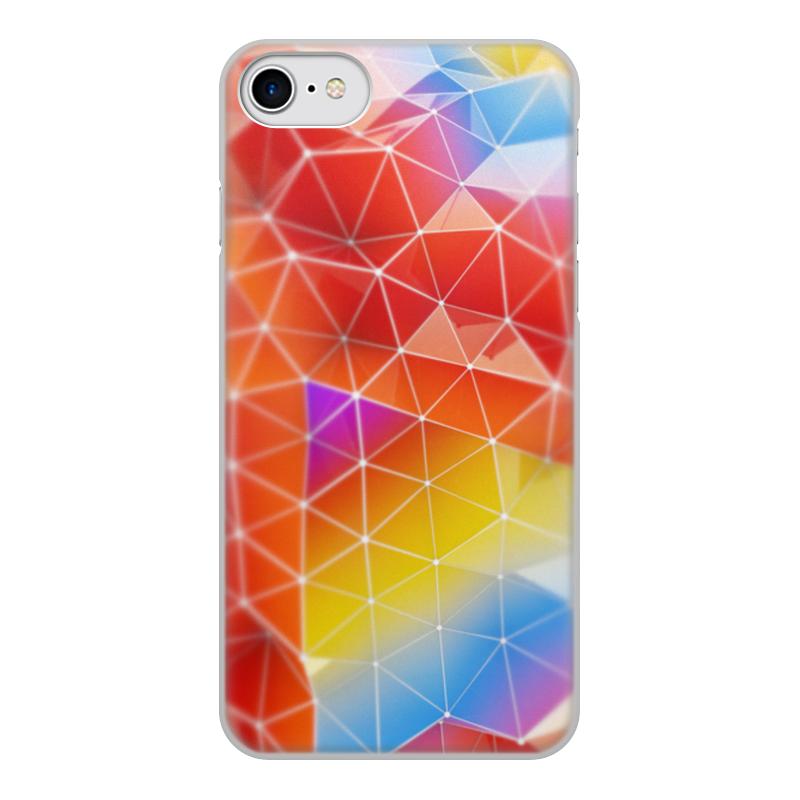 Чехол для iPhone 8, объёмная печать Printio Абстракция чехол для iphone 8 объёмная печать printio буря красок