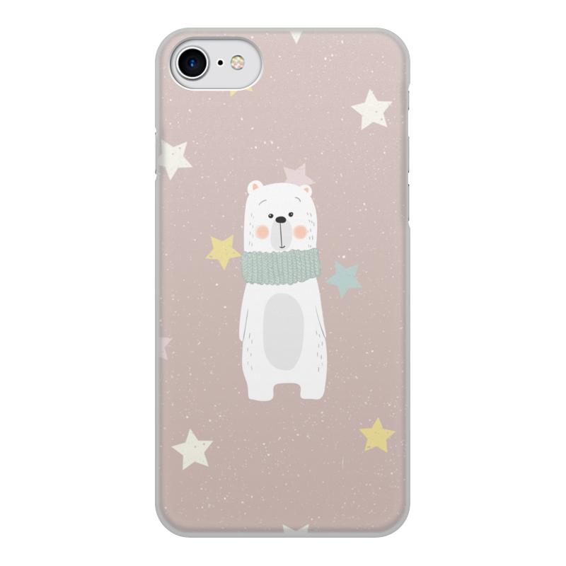 Printio Белый медведь чехол для iphone 8 объёмная печать printio русский медведь