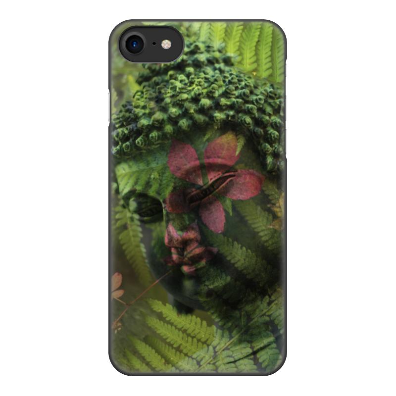 лучшая цена Чехол для iPhone 8, объёмная печать Printio Будда