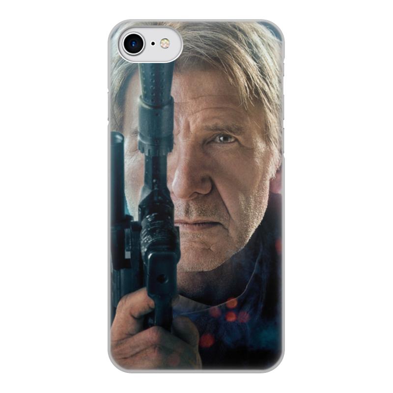 Чехол для iPhone 8, объёмная печать Printio Звездные войны - хан соло цена