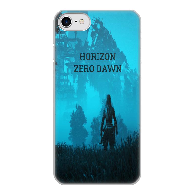 Чехол для iPhone 8, объёмная печать Printio Horizon zero dawn чехол для iphone 8 объёмная печать printio team mystic