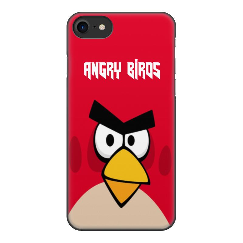 Чехол для iPhone 8, объёмная печать Printio Angry birds (terence) чехол для iphone 4 4s angry birds 1 401