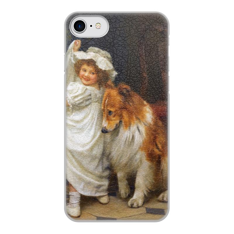 Чехол для iPhone 8, объёмная печать Printio Картина артура элсли (1860-1952) чехол для iphone 6 глянцевый printio дама в голубом картина сомова