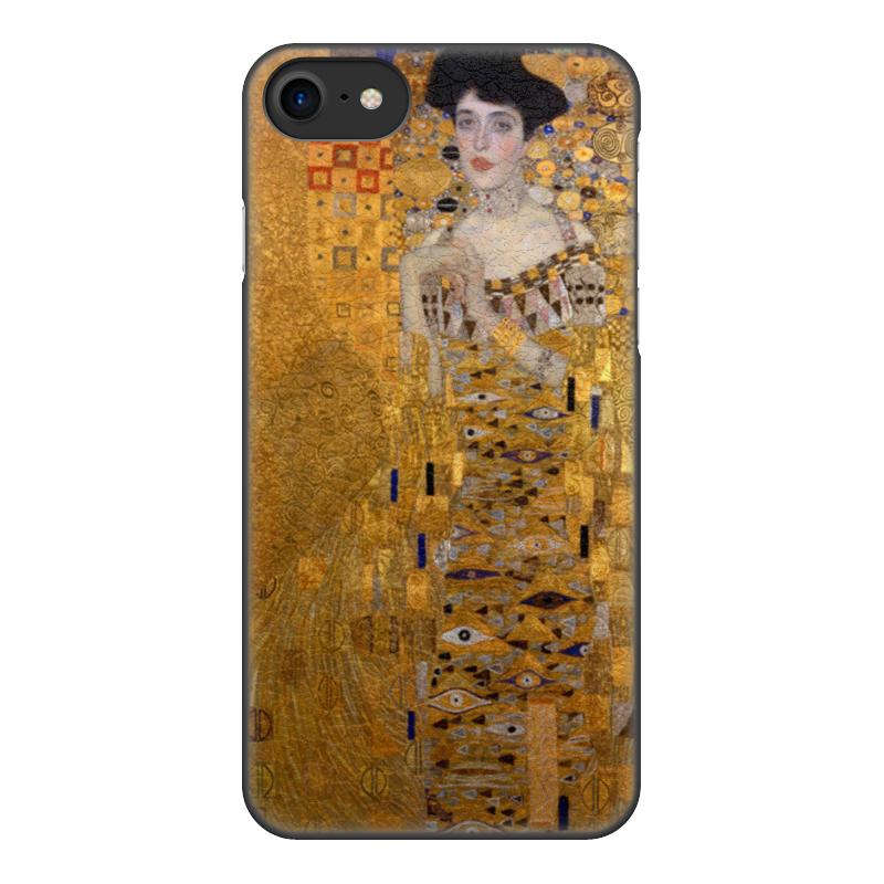 Чехол для iPhone 8, объёмная печать Printio Портрет адели блох-бауэр  (густав климт)