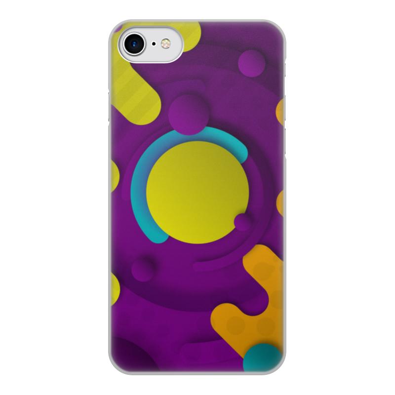 Чехол для iPhone 8, объёмная печать Printio Абстрактный чехол для iphone 8 объёмная печать printio воздушный шар рисунок от руки акварель