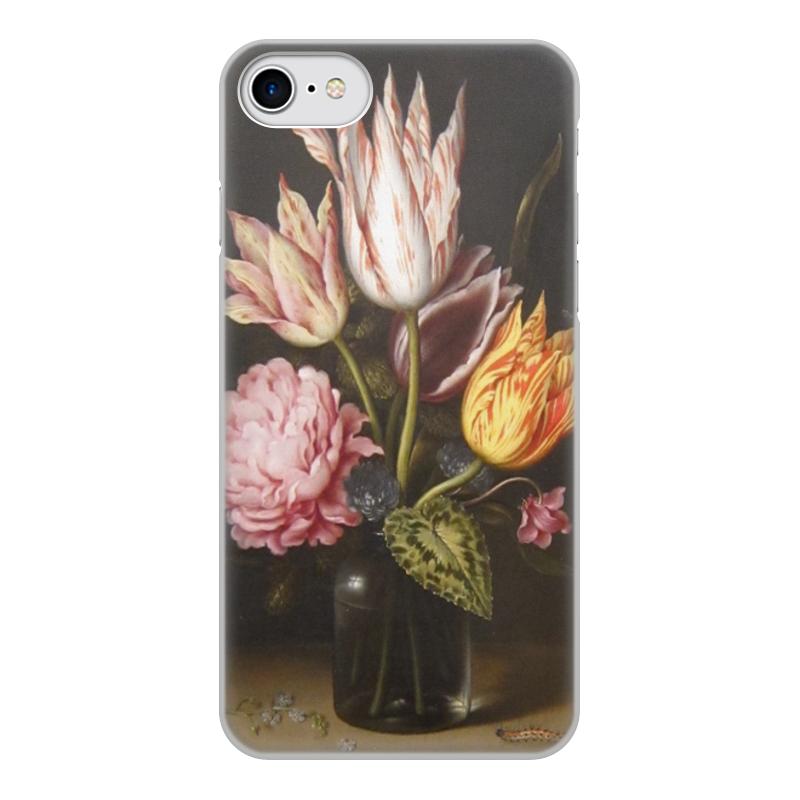 лучшая цена Printio Букет из тюльпанов, роз, клевера, и цикламен