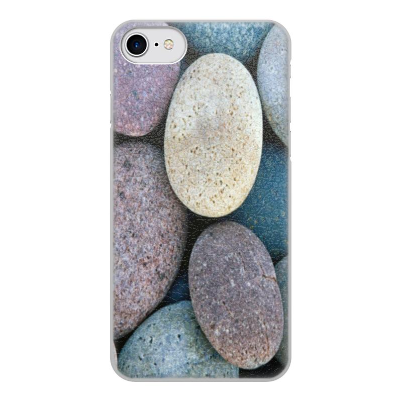 Чехол для iPhone 8, объёмная печать Printio Камни