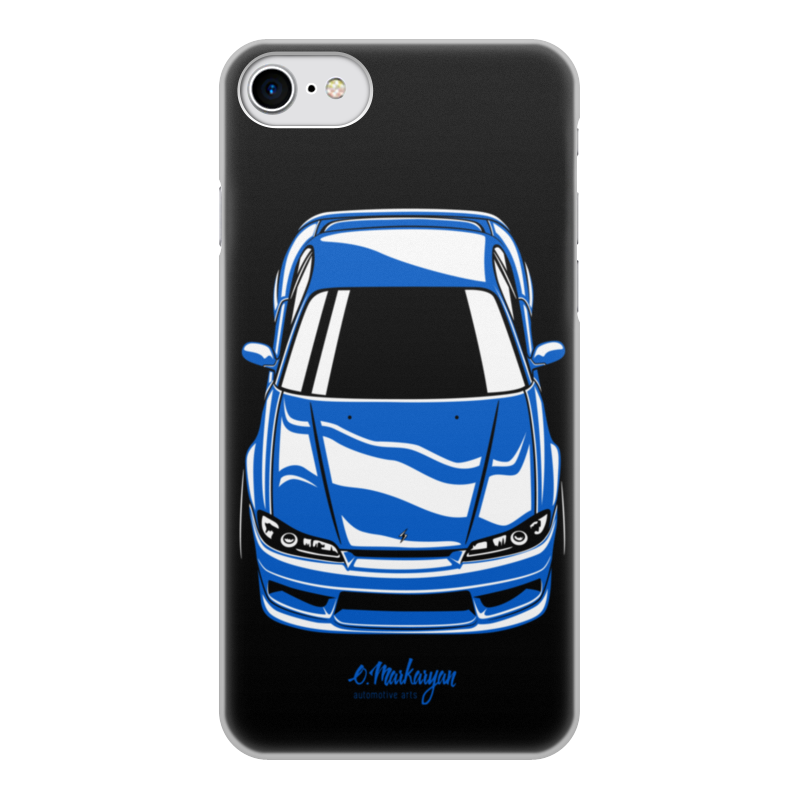 лучшая цена Чехол для iPhone 8, объёмная печать Printio Silvia s15
