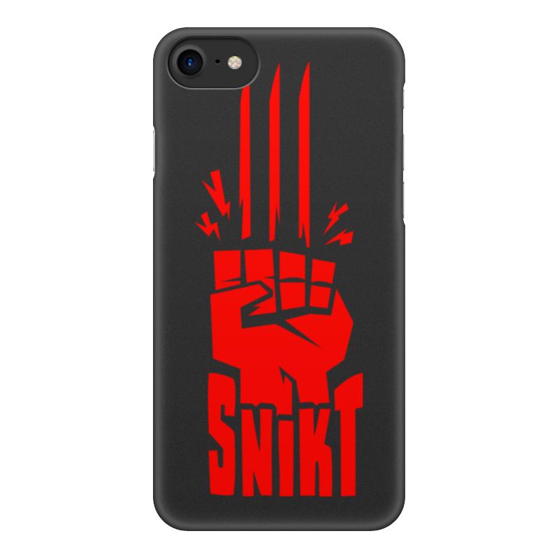 Чехол для iPhone 8, объёмная печать Printio Сникт (росомаха) футболка с полной запечаткой для мальчиков printio сникт росомаха