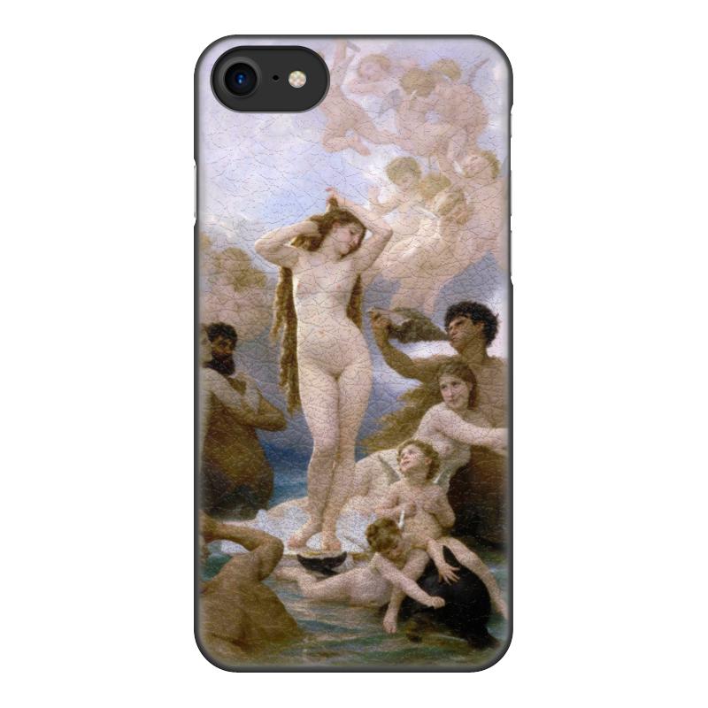 Чехол для iPhone 8, объёмная печать Printio Рождение венеры (вильям бугро) чехол для iphone 6 глянцевый printio купальщица вильям бугро