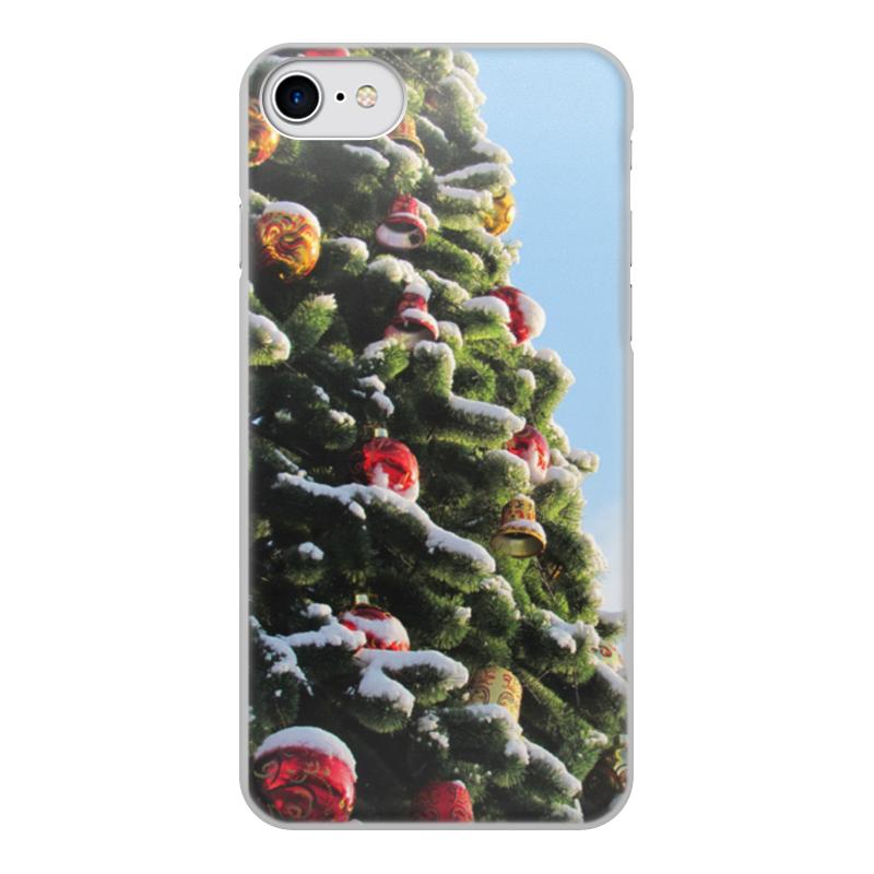 Чехол для iPhone 8, объёмная печать Printio новый год ремень fred perry bt1403 106