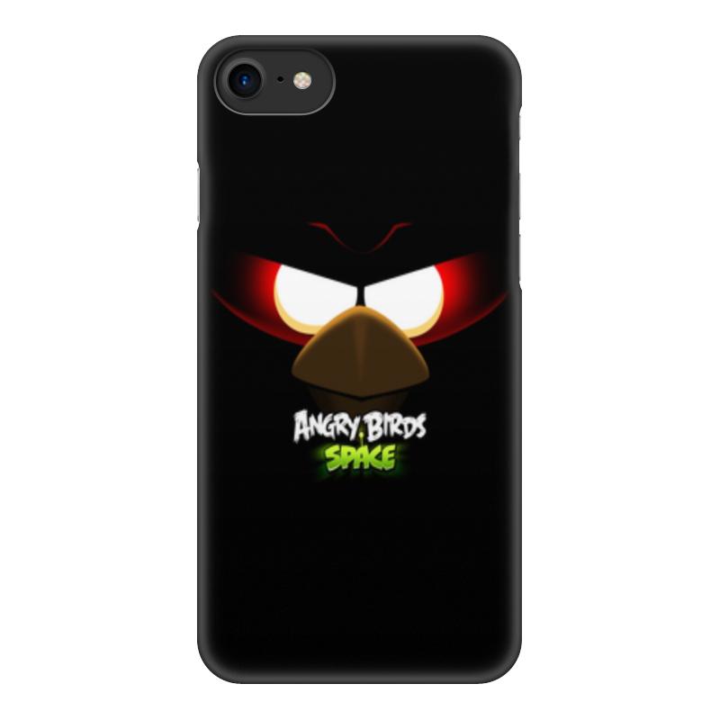 Чехол для iPhone 8, объёмная печать Printio Space (angry birds) чехол для iphone 4 4s angry birds 1 401