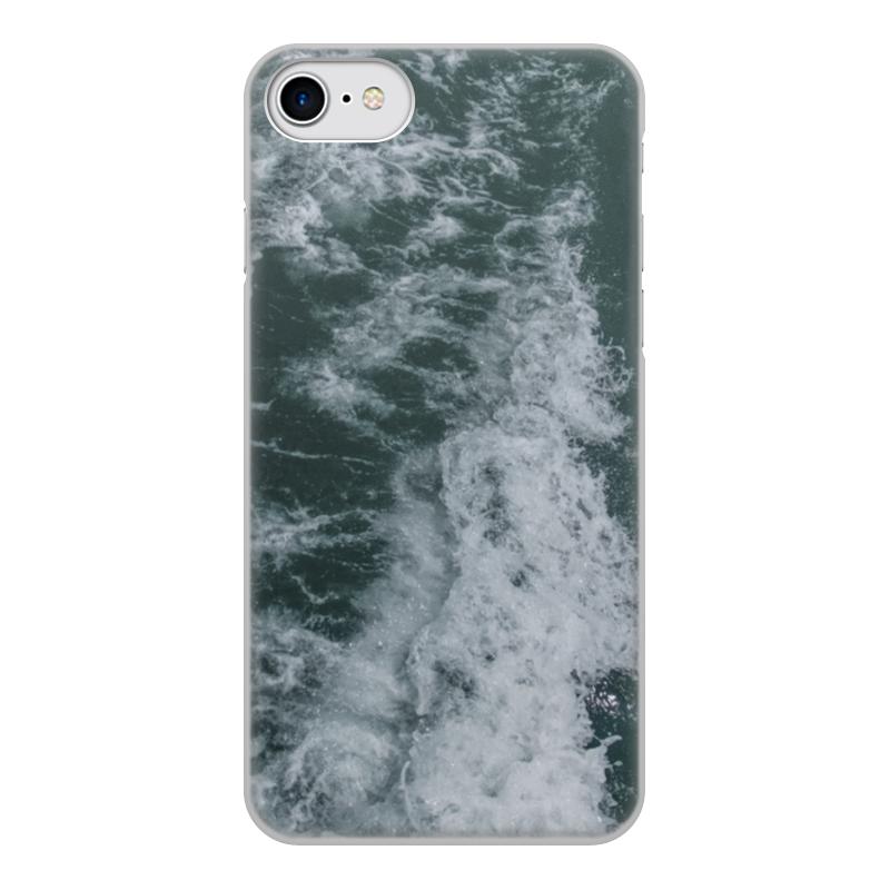 Чехол для iPhone 8, объёмная печать Printio Морские прогулки томсон д прогулки по барселоне