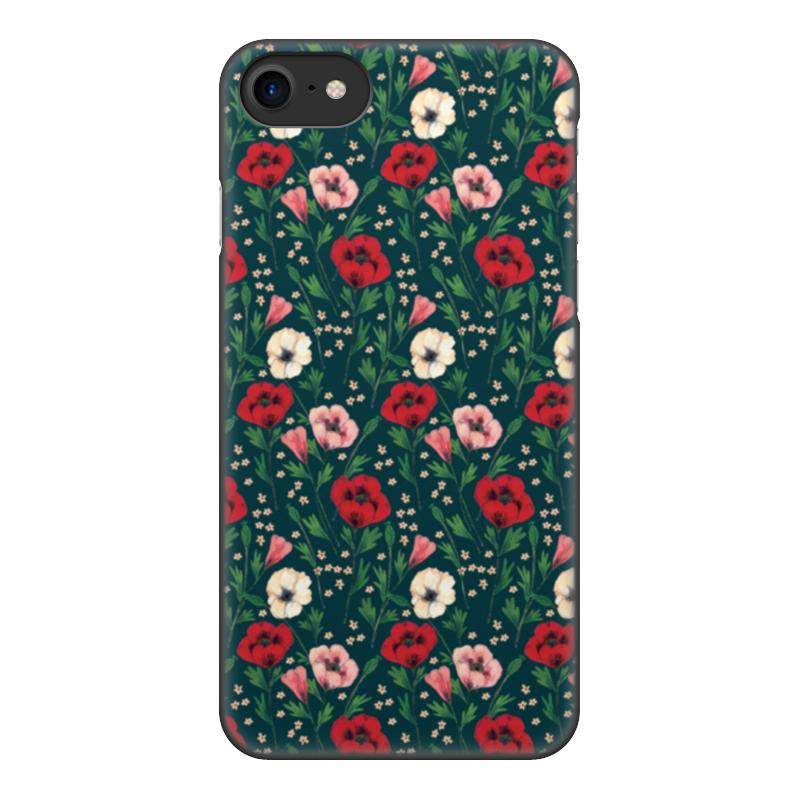 лучшая цена Чехол для iPhone 8, объёмная печать Printio Нотки нежности