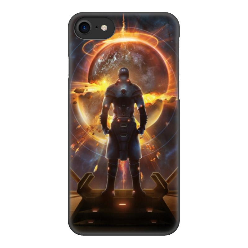 лучшая цена Чехол для iPhone 8, объёмная печать Printio Starpoint gemini warlords
