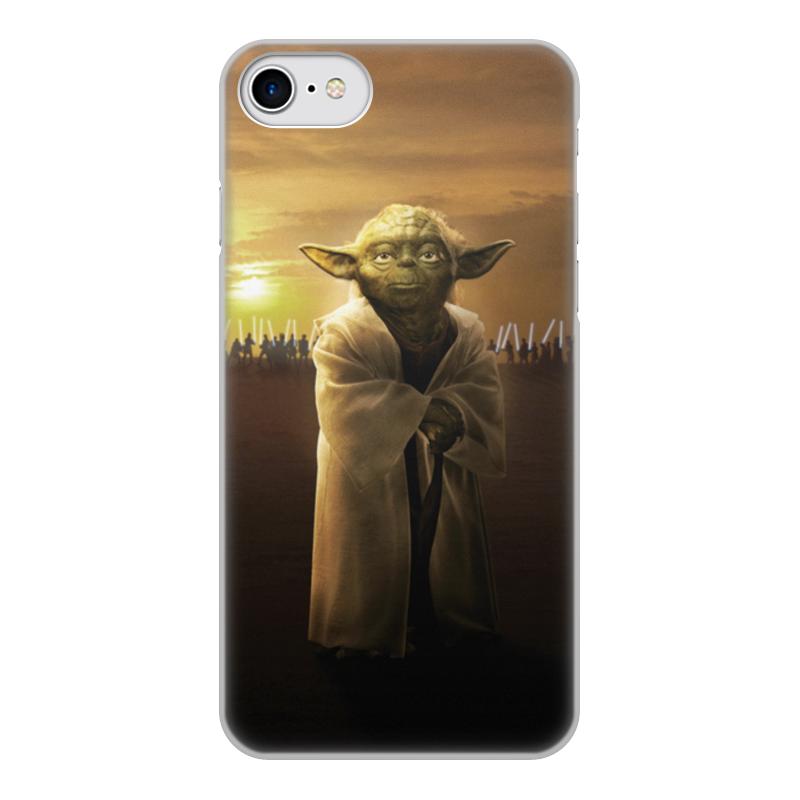 Чехол для iPhone 8, объёмная печать Printio Звездные войны - йода чехол для iphone 8 plus объёмная печать printio звездные войны йода