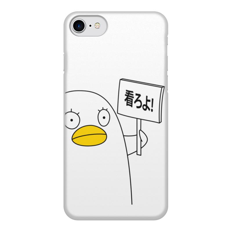 Чехол для iPhone 8, объёмная печать Printio Гинтама. элизабет чехол для iphone 6 plus глянцевый printio гинтама элизабет