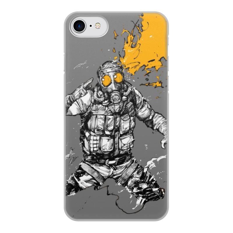 Чехол для iPhone 8, объёмная печать Printio Smoke