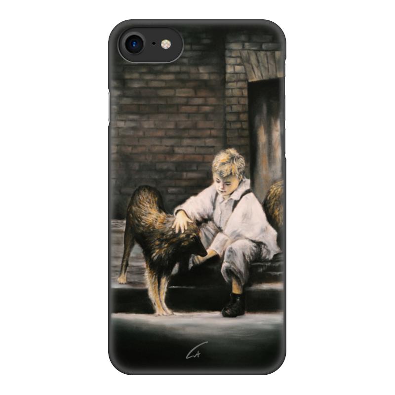 Чехол для iPhone 8, объёмная печать Printio Делая добро