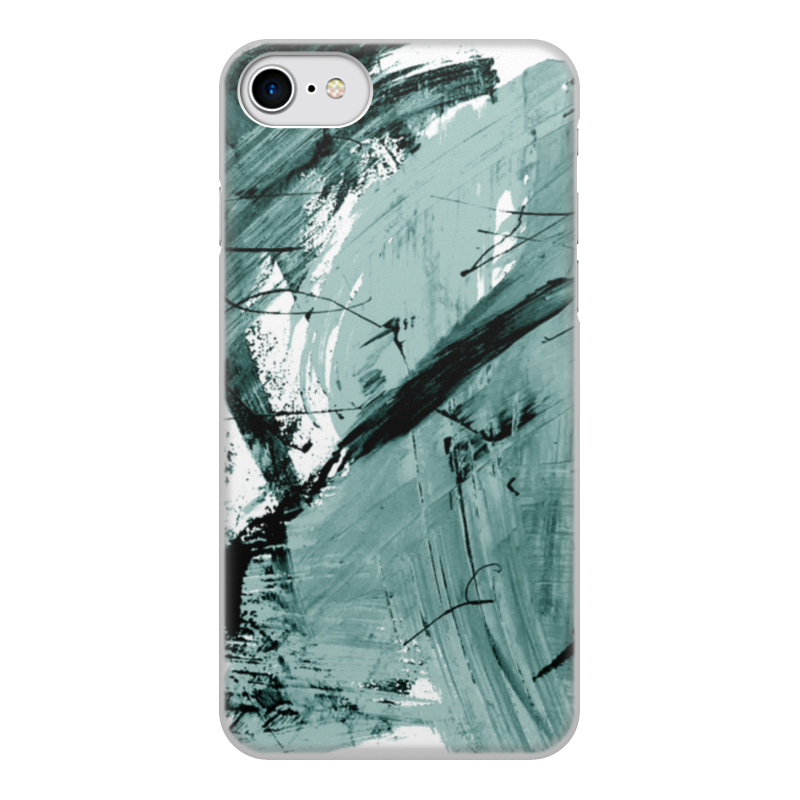 Чехол для iPhone 8, объёмная печать Printio Волна чехол для iphone 8 объёмная печать printio буря красок