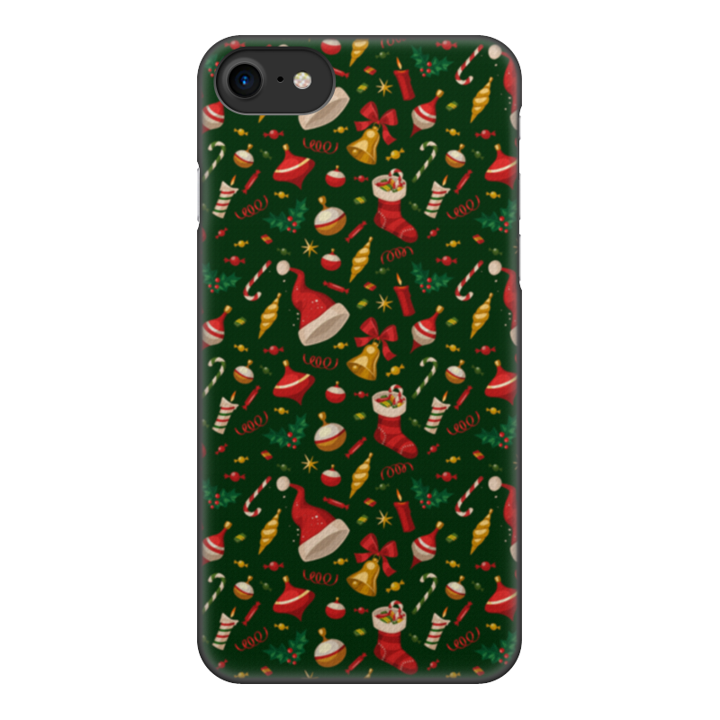 Чехол для iPhone 8, объёмная печать Printio Новогоднее настроение чехол для iphone 6 объёмная печать printio новогоднее настроение