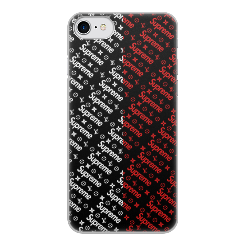 Чехол для iPhone 8, объёмная печать Printio Supreme цены онлайн