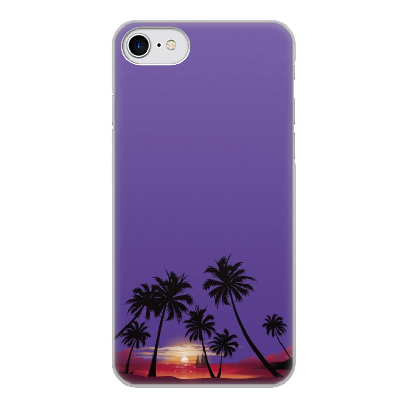 лучшая цена Чехол для iPhone 8, объёмная печать Printio Острова в океане