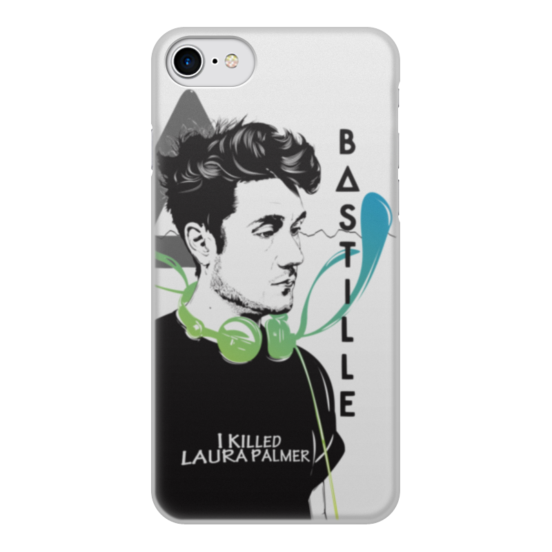 Чехол для iPhone 8, объёмная печать Printio Bastille