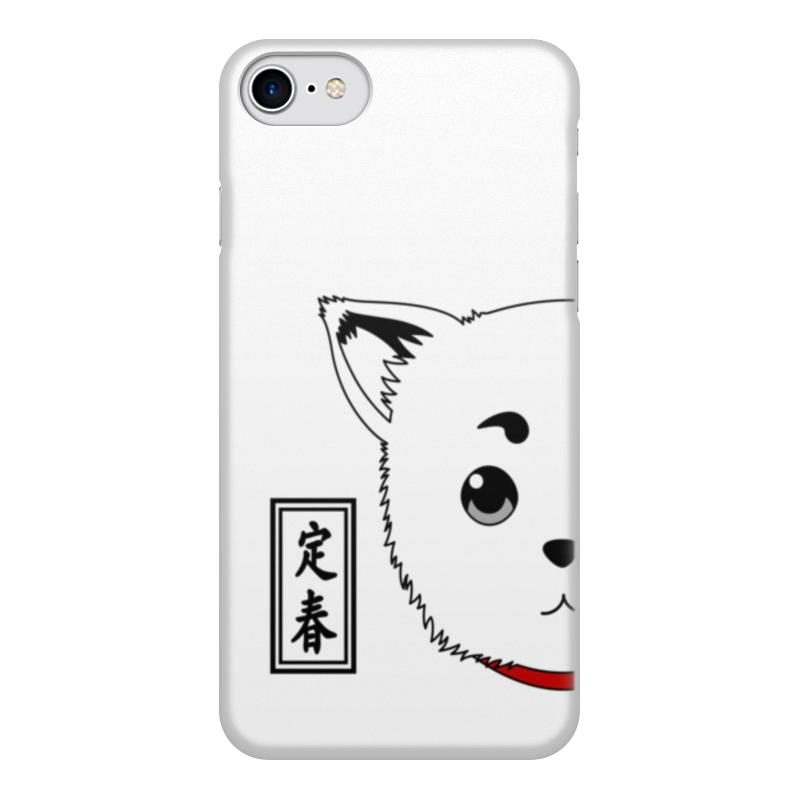 Чехол для iPhone 8, объёмная печать Printio Гинтама. садахару цена