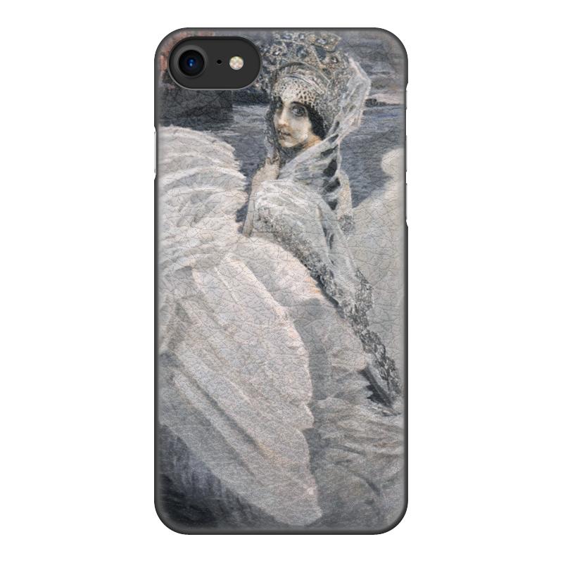 Чехол для iPhone 8, объёмная печать Printio Царевна-лебедь (картина врубеля) чехол для iphone 8 объёмная печать printio корабль дураков картина босха