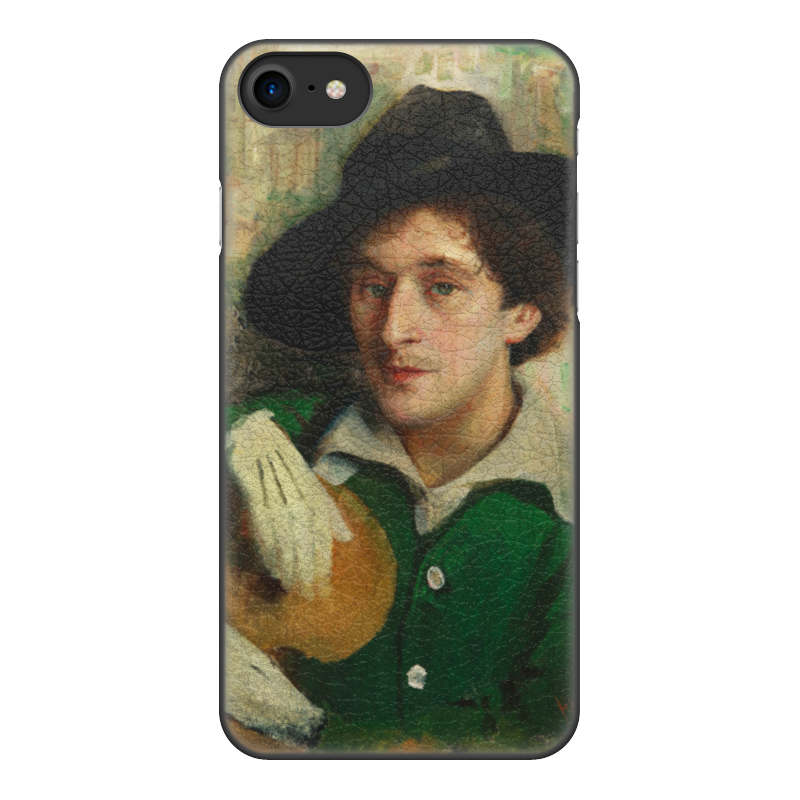 Чехол для iPhone 8, объёмная печать Printio Портрет марка шагала (юдель пэн) чехол для iphone 8 объёмная печать printio портрет молодой женщины мари дениз вильер худож