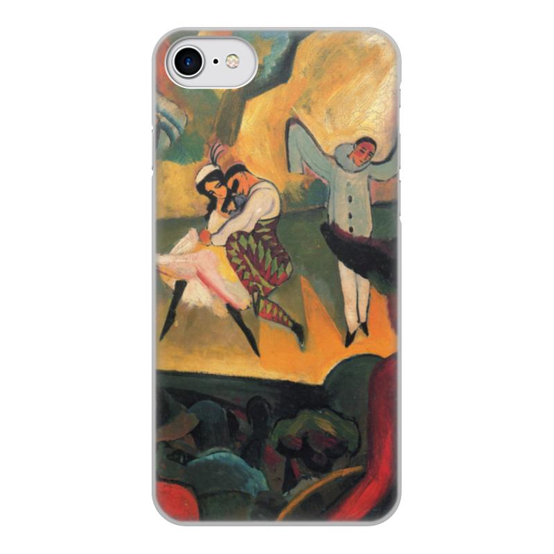 Чехол для iPhone 8, объёмная печать Printio Русский балет (август маке) платье без рукавов printio парусник в тегернзее август маке