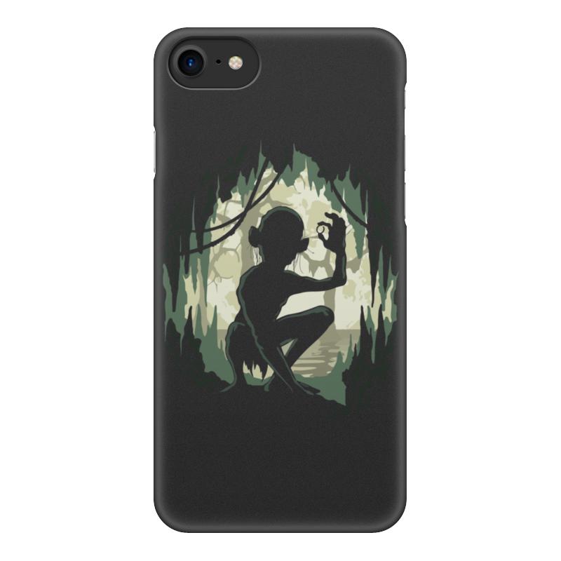 все цены на Чехол для iPhone 8, объёмная печать Printio Моя прелесть (властелин колец) онлайн