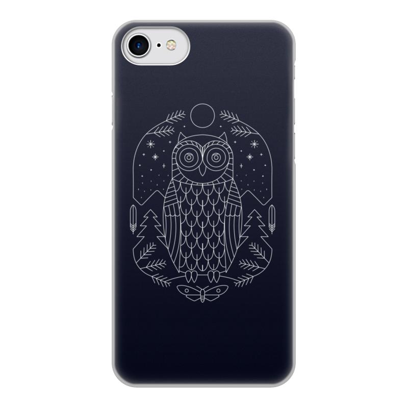 Чехол для iPhone 8, объёмная печать Printio Ночной страж